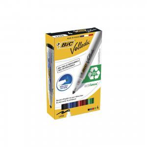 Набор маркеров для доски Bic Velleda, 4 шт 1,5 мм
