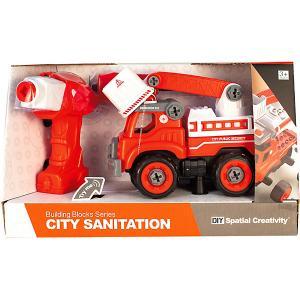 Конструктор  Пожарная машина QunXing Toys