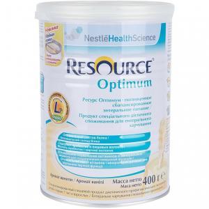Заменитель молока  Resourse Optium белковый с 7 лет, 400 г Nestle