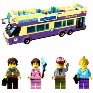 Конструктор  Туристический автобус 1123 (455 элементов) Enlighten Brick