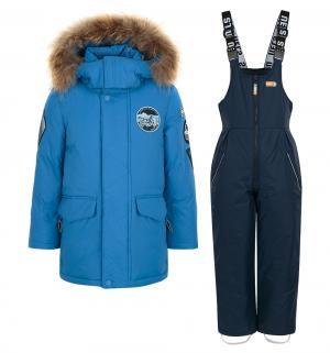 Комплект куртка/полукомбинезон  Timo, цвет: синий Nels