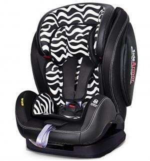 Автокресло  Encore Fit SideArmor & CuddleMe ISO-FIX, цвет: черный/черно-белые полосы Welldon