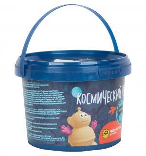Кинетический песок  цвет: голубой 0,5 кг Космический