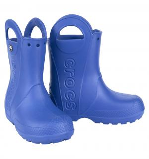 Резиновые сапоги  Handle It Rain Boot Kids, цвет: синий Crocs