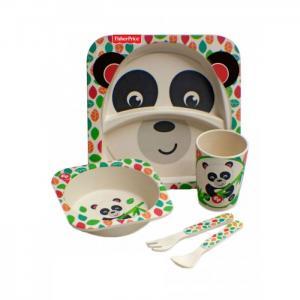 Набор посуды из бамбука Панда (5 предметов) Fisher Price