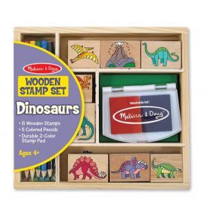 Набор печатей  Динозавры Melissa&Doug
