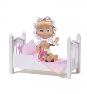 Кукла  Маша с кроваткой и аксессуарами Simba