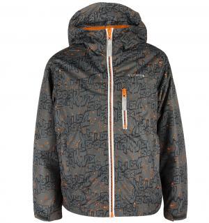Куртка  Город, цвет: серый/синий IcePeak