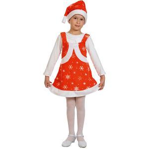 Карнавальный костюм  Мисс Санта Карнавалофф. Цвет: разноцветный