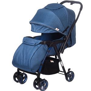Прогулочная коляска  Floret, джинс Baby Hit. Цвет: джинсовый