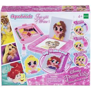 Набор для творчества Aquabeads Disney Princess с аксессуарами Epoch Traumwiesen. Цвет: розовый