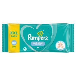Влажные салфетки  Fresh Clean Value, 80 шт Pampers