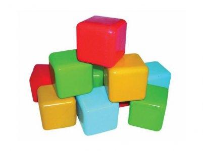 Развивающая игрушка  Кубики цветные Пластмастер