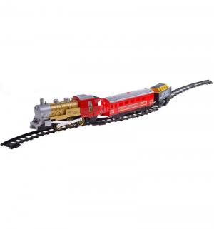 Железная дорога  Мой первый поезд красный (11 элементов) 282 см JOY TOY