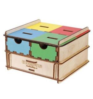 Развивающая игрушка  Комодик-плоский Инструменты и посуда 14 х 9 см Woodland