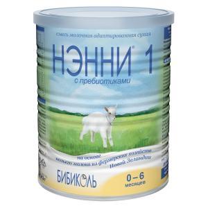 Молочная смесь  1 0-6 месяцев, 400 г Нэнни