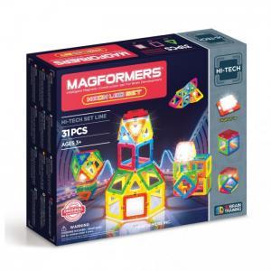 Конструктор  Магнитный Neon Led set Magformers