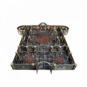 Игровой набор из картона Подземелье Храм Тронный зал Умная бумага