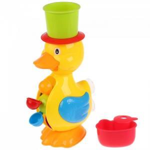 Развивающая игрушка Водяная мельница Утёнок на присоске Умка