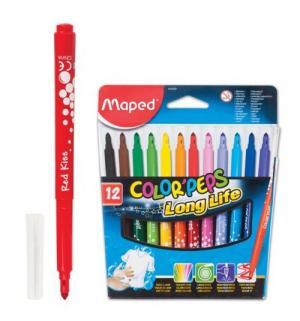 Фломастеры  смываемые Colorpeps Maped