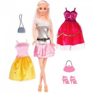 Набор Кукла Ася Стильные цвета Блондинка Toys Lab