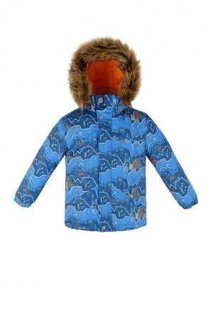 Куртка  Горы, цвет: голубой Reike