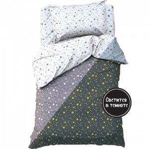 Постельное белье  1.5 спальное Starry sky (3 предмета) Этель