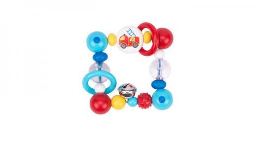 Погремушка  Игрушка-кольцо Пожарная машина Heimess