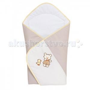 Одеяло-конверт Ducklings (вышивка) Ceba Baby