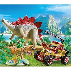 Конструктор Playmobil Исследовательский транспорт со стегозавром, 7 деталей PLAYMOBIL®