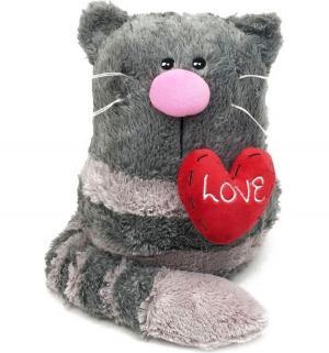 Мягкая игрушка  Кото-фей с сердцем 23 см Gulliver