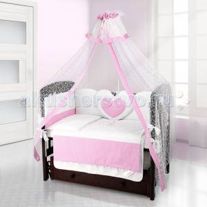 Комплект в кроватку  Cuore Puntini (6 предметов) Beatrice Bambini