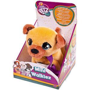 Инерактивный щенок  Club Petz Mini Walkiez Shepherd IMC Toys. Цвет: коричневый