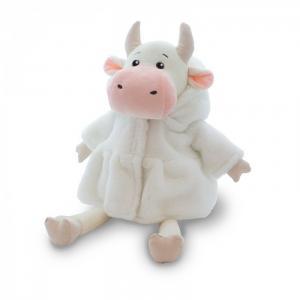 Мягкая игрушка  Коровка Наташа в белой шубке 28 см Maxitoys