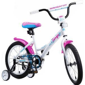 Двухколёсный велосипед  Bingo 16 Navigator. Цвет: розовый