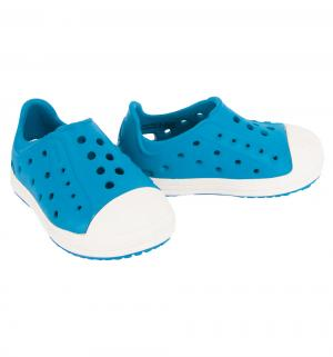 Туфли пляжные  Bump It Shoe K Ultramarine/Oyster, цвет: синий Crocs
