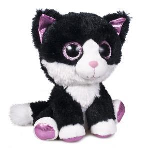 Мягкая игрушка  Глазастик котик 15 см Fancy