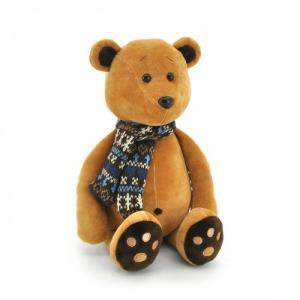 Мягкая игрушка  Медвежонок Медок в Шарфике Orange