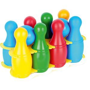 Игровой набор  Кегли, малые Zebratoys. Цвет: разноцветный