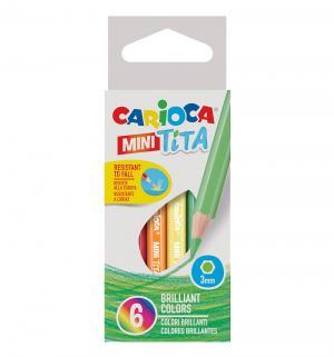 Карандаши цветные  Mini tita Carioca