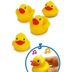 Игрушка для ванной  Уточки Bebelino. Цвет: разноцветный