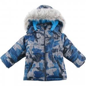 Куртка утепленная для мальчика Wojcik. Цвет: белый
