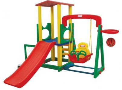 Детский игровой комплекс для дома и улицы JM-731BD Happy Box