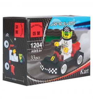 Конструктор  Racers Гоночный Карт Brick