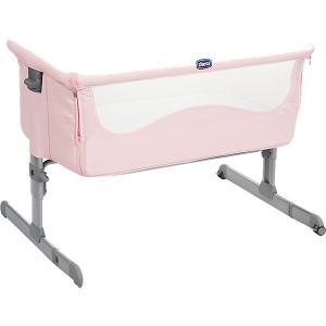 Кроватка-люлька Chicco Next 2 Me french rose. Цвет: розовый