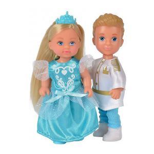 Игровой набор с мини-куклами  Evi Love Тимми и Еви - принц принцесса, 12 см Simba. Цвет: разноцветный