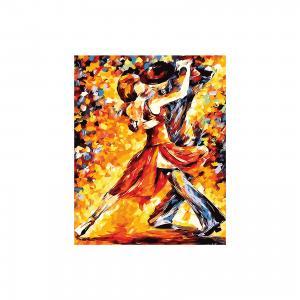 Роспись холста по номерам Танго. Импрессионизм, Creatto Креатто
