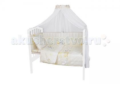 Комплект в кроватку  Прогулка (7 предметов) Idea Kids