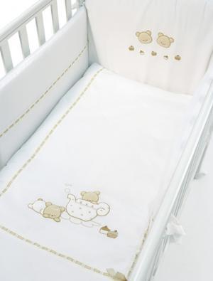 Комплект в кроватку  Pasticcini (4 предмета) Bambolina