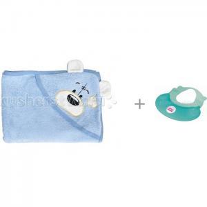 Полотенце с капюшоном Мишки и Козырек для купания OK Baby Hippo TwinklBaby